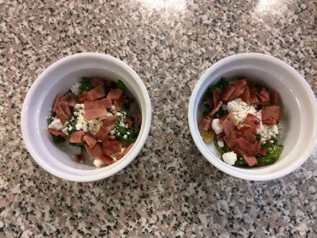 Kale & Feta Egg Bake