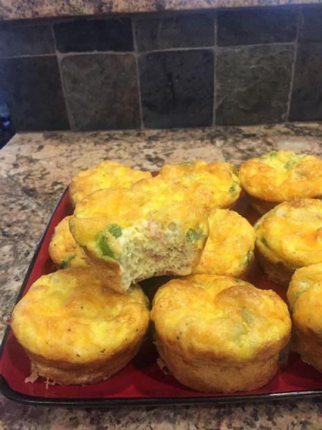 Keto Friendly Egg Muffins