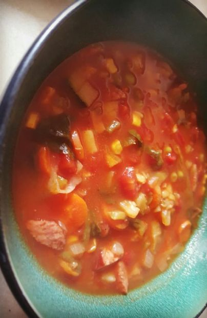 Kitchen sink soup recipe sparkrecipes kitchen sink soup workwithnaturefo