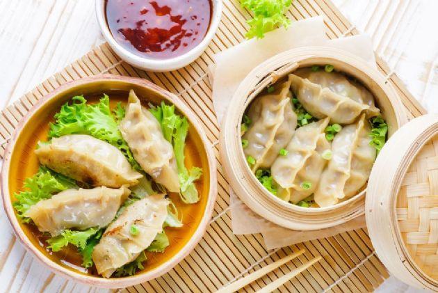 Korean Beef Dumplings (Mandu or Mandoo)