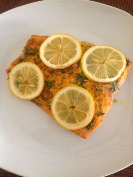Lemon Dill Salmon