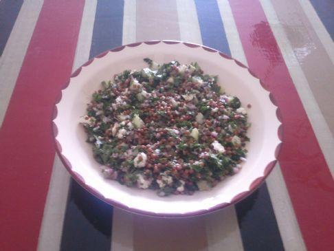 Light Lentil Salad