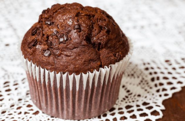 Low Fat Dark Chocolate Muffins Recipe