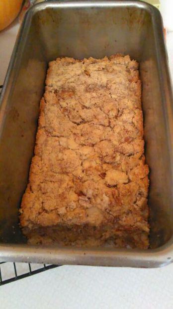 Low carb apple cinnamon bread