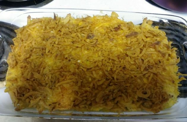 Low carb crunchy tuna noodle casserole