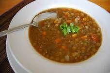 Low fat Lentil soup