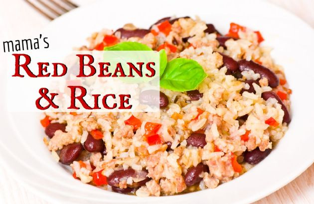 Mama's Red Beans and Rice