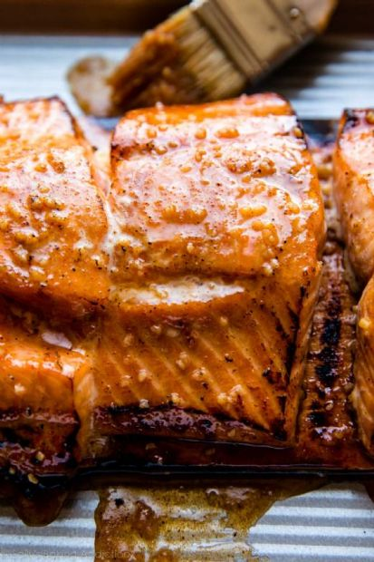 Maple Syrup Chipotle Salmon