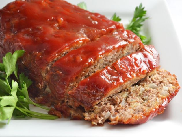 400 Calorie Dinner - Meatloaf with Mashed Potatoes