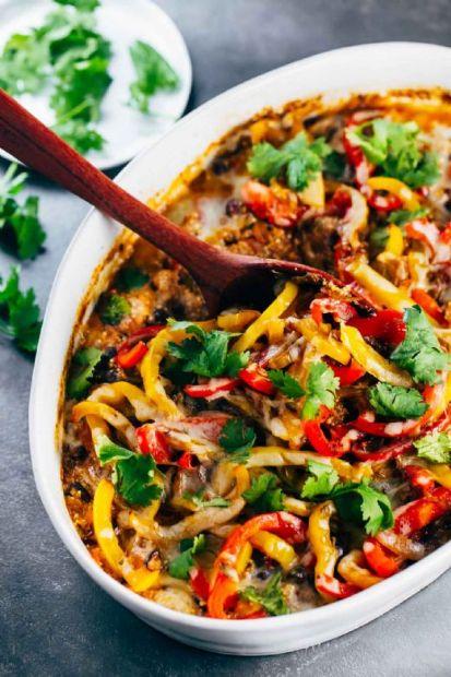 Mexican Quinoa Chicken Casserole