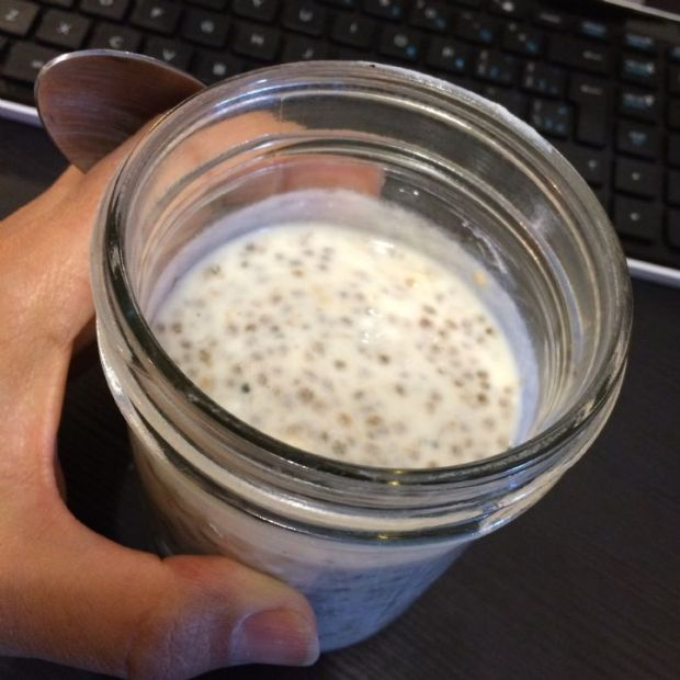 Mocha Quia Banana Morning jar