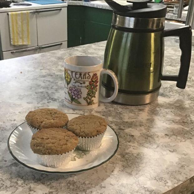 Muffins, Apple Spice Almond Flax