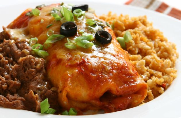 No-Guilt Cheese Enchiladas