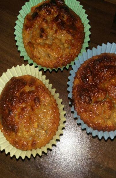 Oat, Banana, Apple Muffins