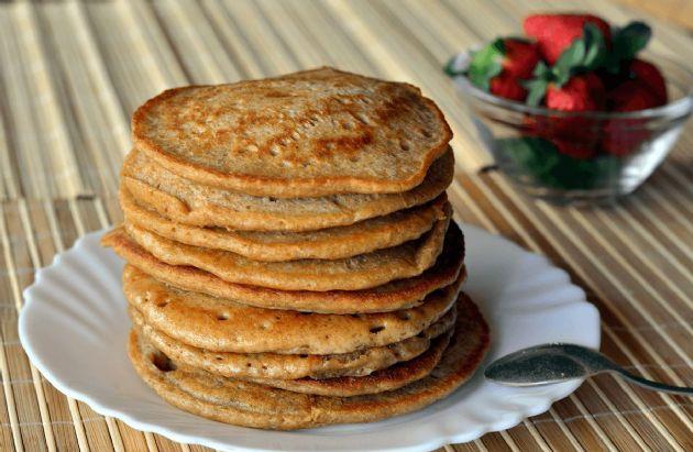Oatmeal ''Cookie'' Pancakes