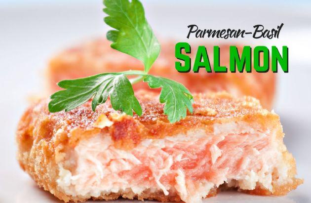 Parmesan Basil Salmon