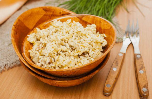 Parmesan Rice Pilaf