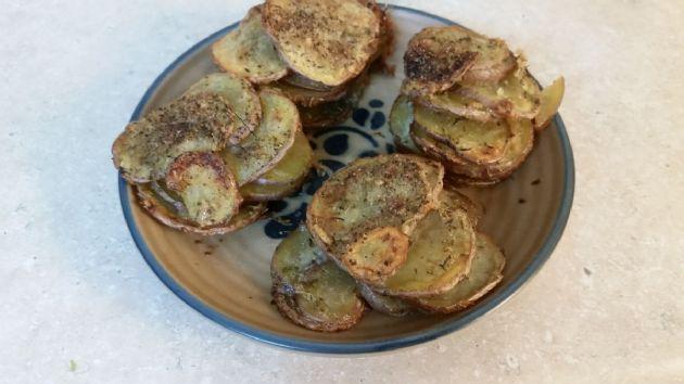 Parmesan Potato Stacker