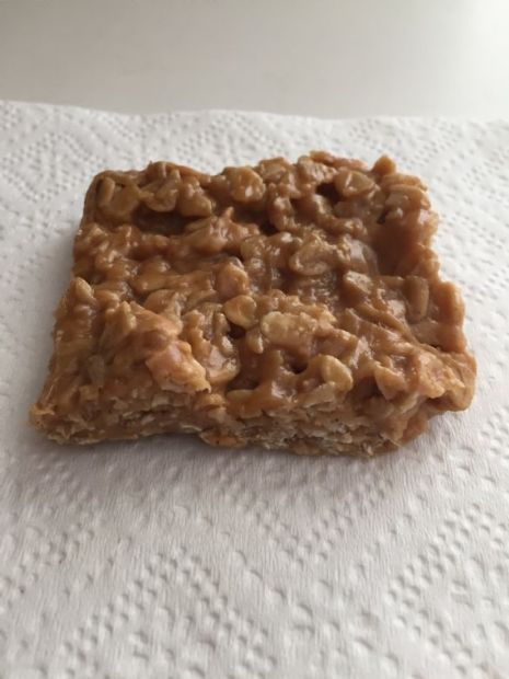 Peanut Butter & Honey Chewy Granola Bars