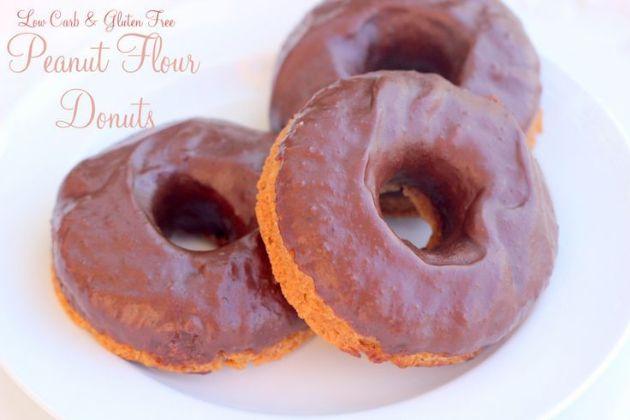 (THM) Peanut Flour Donuts (S)