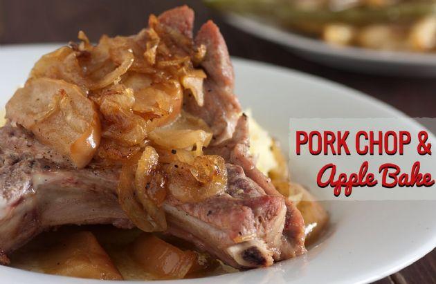 Pork Chop and Apple Bake