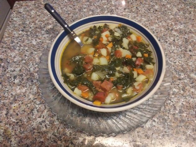 Porteguese Kale Soup