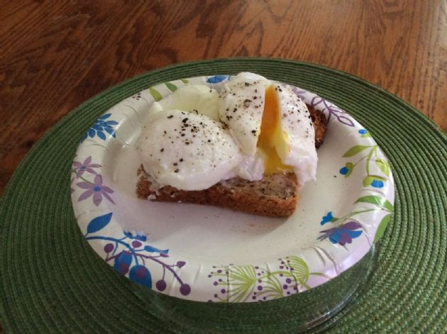 Pouched Eggs (gluten free zone)