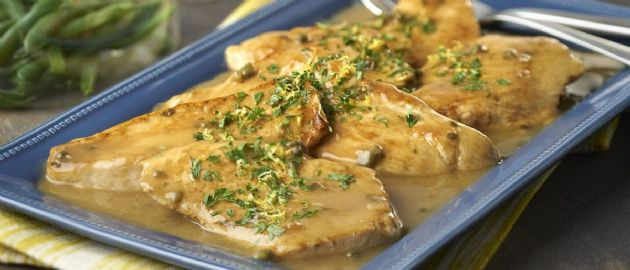 Provencal Turkey Cutlets