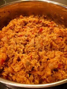 Quick Turkey/Chicken/Shrimp Jambalaya (Vcook)