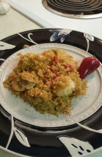 Quinoa Paella