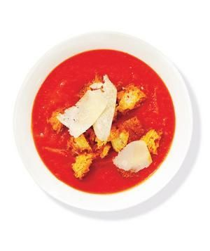 Real Simple Tomato Soup (w/o Parmesan and Croutons)