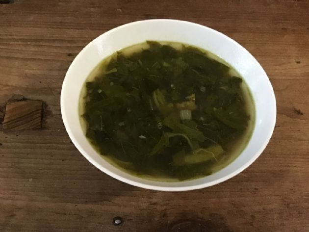 Red Amaranth Soup (Red Shen Choy)