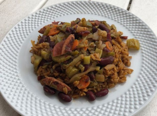 Red Beans and Rice Light