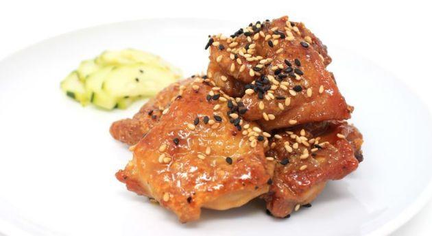 Reduced Carb Crispy Chicken Teriyaki