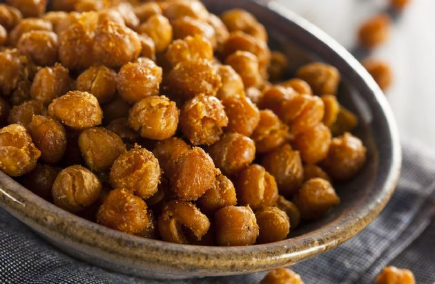 Roasted Chickpeas (Garbanzo Beans)