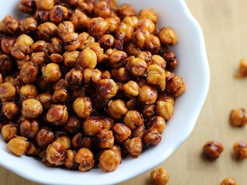 Roasted Chickpeas - Party Mix Style