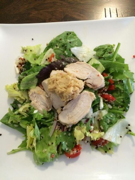 Robin's Mediterranean chicken salad