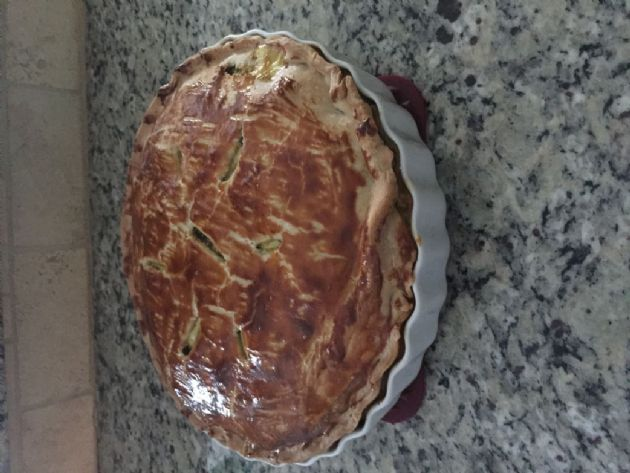 Ruby's Italian Spinach Sausage Pie