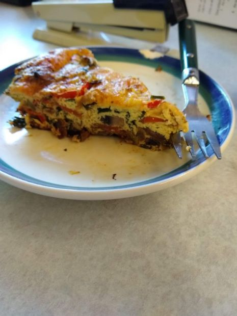 Seasonal Veggie Crustless Quiche