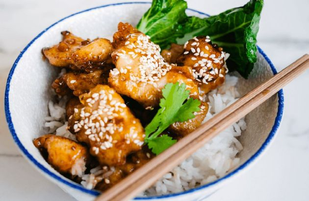 sesame chicken recipe  sparkrecipes