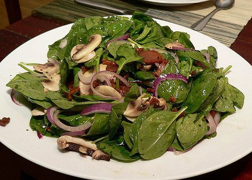 Shan's Wilted Spinach Salad (Keto/Low carb friendly)