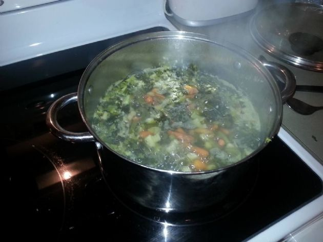 Sharon's Seriously Vegetable Soup