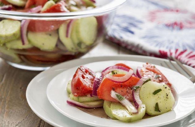 Sherry's Cucumber Salad