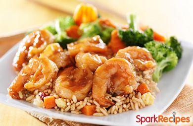 Shrimp & Veggie Stir-Fry w/ a Twist