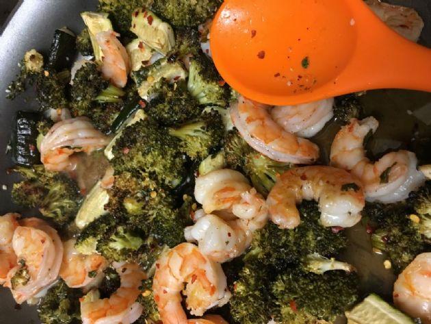Shrimp Stir Fry with Honey Garlic Sauce