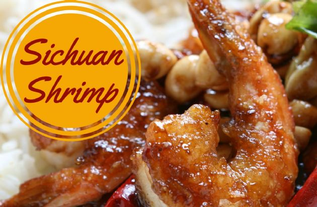 Sichuan (Kung Pao) Shrimp