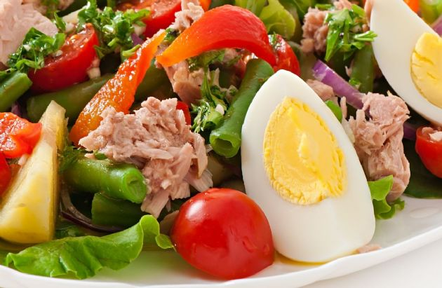 Simple Nicoise Salad