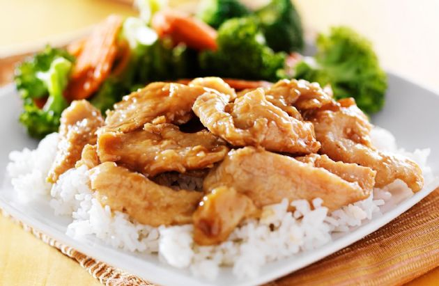 Skillet Chicken Teriyaki