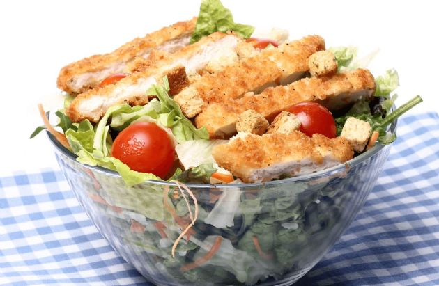 Skinny Chicken Parmesan Salad