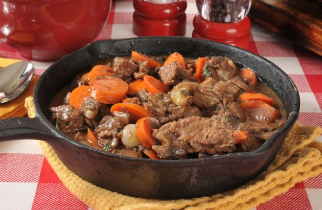 Slow Cooker Beef and Mushroom Stew